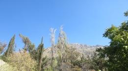La montaña y el cielo