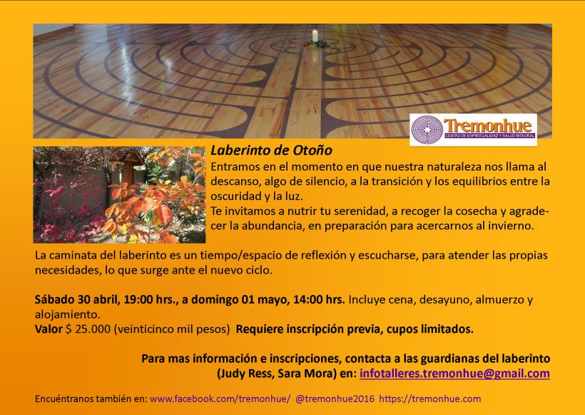 Invitacion Laberinto Otoño 2016
