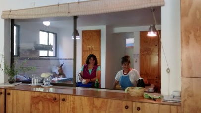 Las guardianas de la cocina!