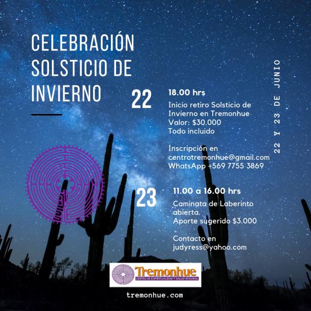 Celebración Solsticio de Invierno
